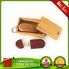 2016 Best wooden promotion gifts Bamboo Swivel Usb Flash Drive