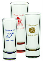 60ml Souvenir Shot Glass with Printing New York/wine glass