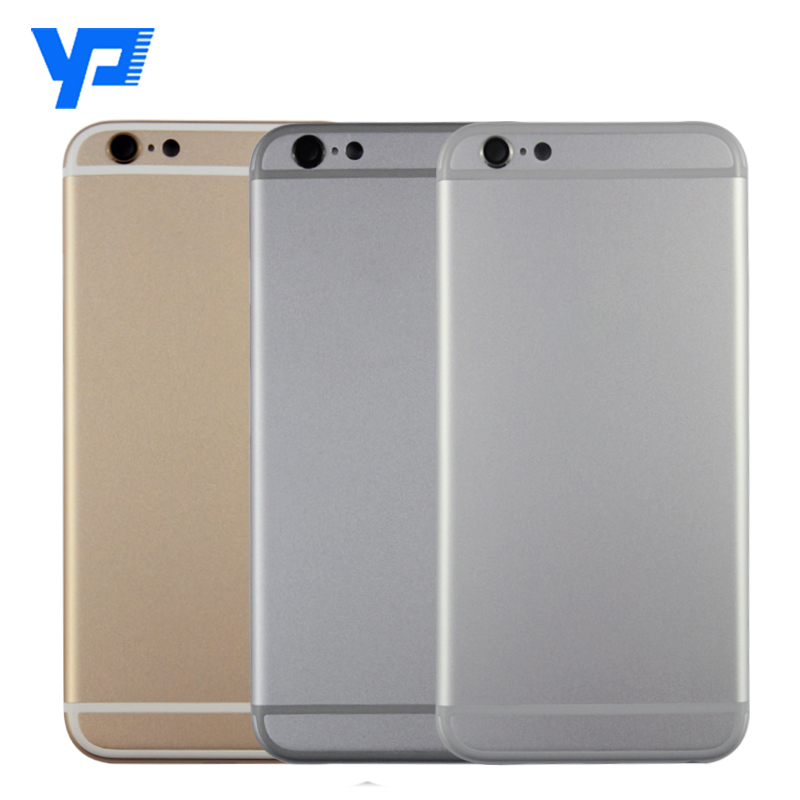 OEM high quality back cover complete for Apple iPhone 6 full housing with all spare parts