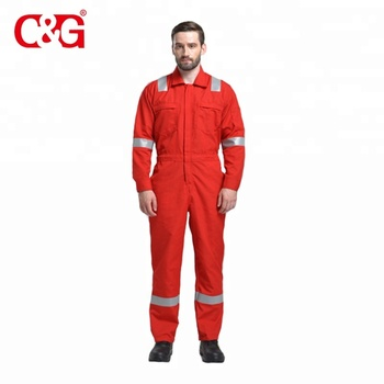 ed8acff72afe Dupont Nomex Flame Retardant Coveralls With High Visible Red Color ...