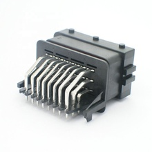 24 <span class=keywords><strong>Pin</strong></span> Auto <span class=keywords><strong>Konektor</strong></span> Tahan Air <span class=keywords><strong>ECU</strong></span> Papan PCB End Connector HCCPHPE24BKA90F