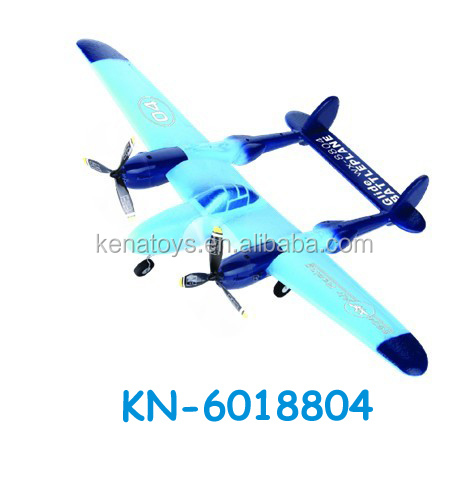 New design 2 CH Foam RC Plane model/Glider Plane with LED light