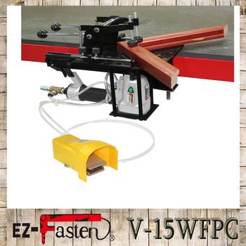 Easy Picture Frame Assembly Machine V-nail Joiner Best V Joiner ...