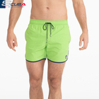 Top Quality Mens Boys Quick Dry Solid Swim Trunks Bathing Suits Swim Shorts with Mesh Lining