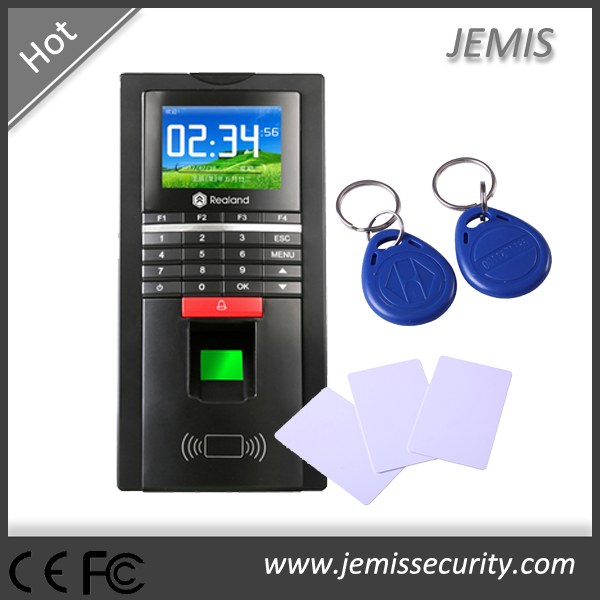 TCP/IP ethernet, RS485, USB host keypad biometric Realand fingerprint door access control