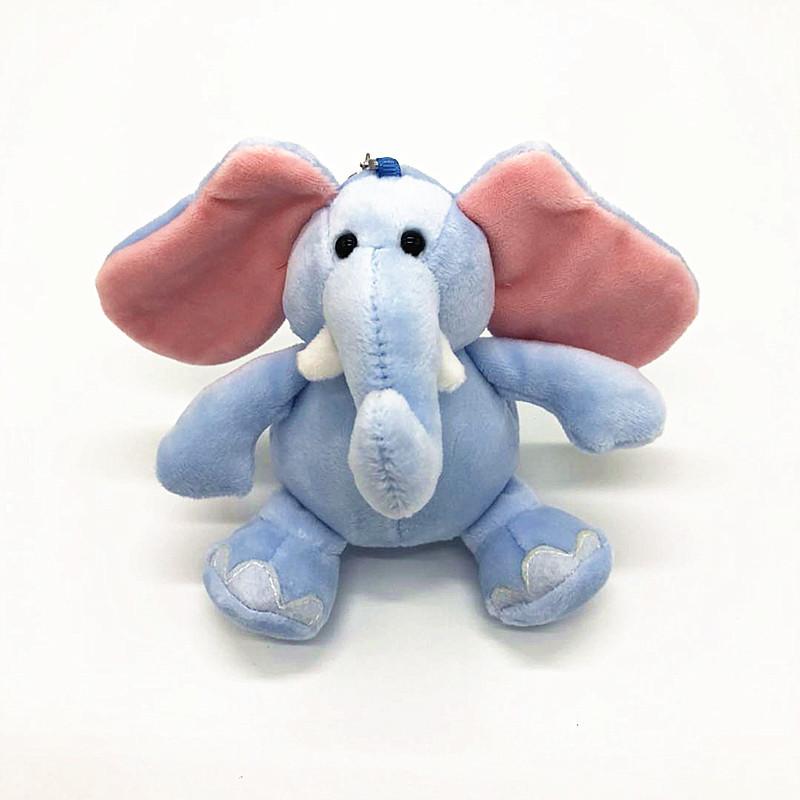 Wholesale Stuffed Soft Toy Pink Big Ear Elephant Plush Big Ears