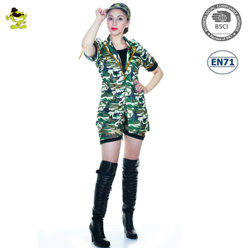 Sexy soldier outfit