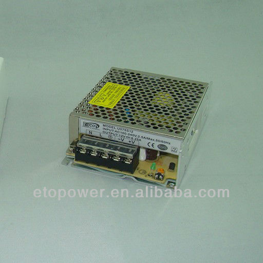 dc switching power supply 30W enclosed type power supply