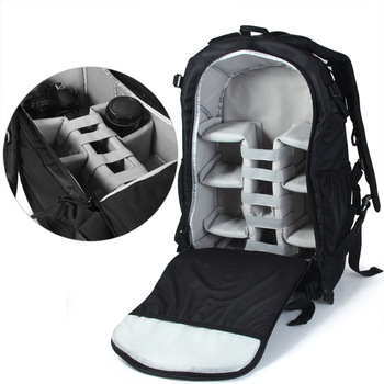 Caden K7 Anti Theft Waterproof Nylon Camera Bag Backpack Mountaineering For Dslr Canon Nikon