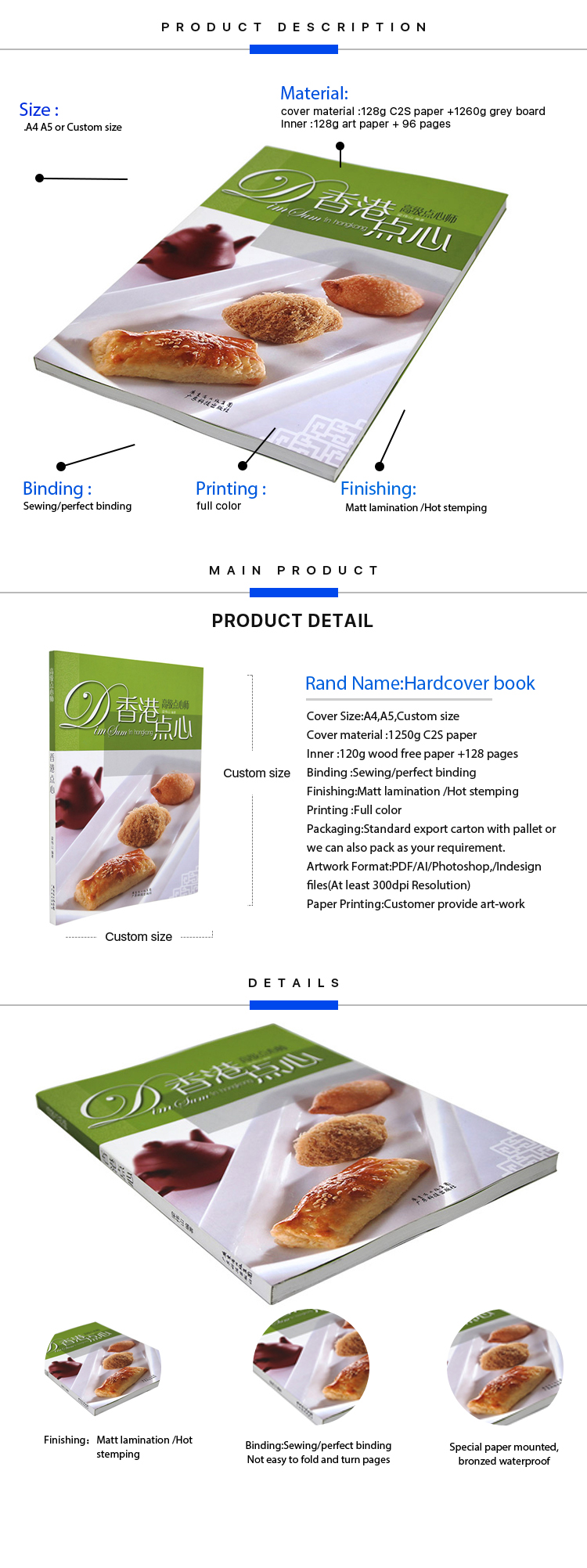2019 Custom design cheap price printing services A4 A5 soft cover book printing