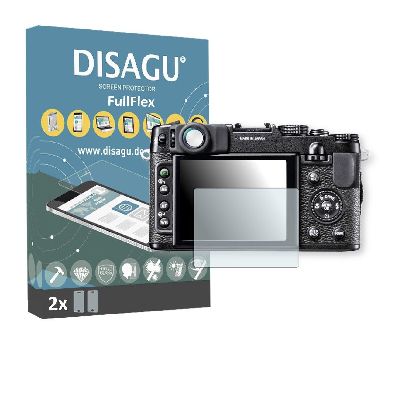2 x Disagu FullFlex screen protector for Fujifilm X10 foil screen protector
