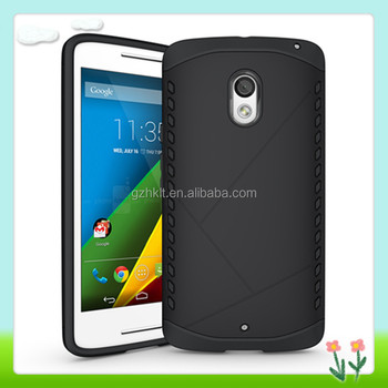 PC TPU Dual Layer Shockproof Cell Phone Case For Motorola Moto X Play