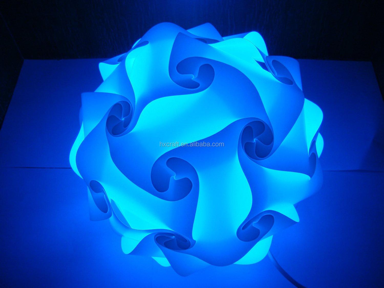 Moderne,Zeitgenössische Diy Elemente Iq-puzzle Lampe Schatten Decke ...
