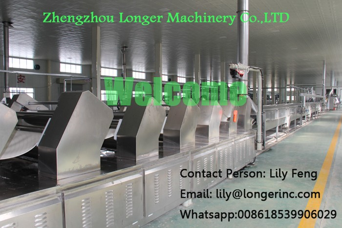 Hot Sale Newest Design High Quality Instant Noodle Production line