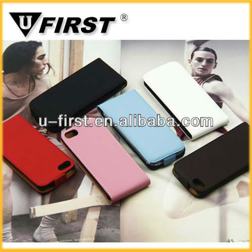 mobile phone leather case for iphone 4