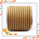 wholesale Natural Color 8mm round braiding leather cord