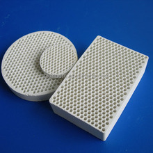gas burners infrared parts -honeycomb ceramic plate
