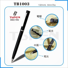 Wholesale cheap promotion plastic bic ball pen for hilton hotel pen