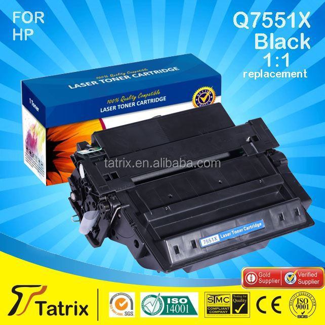 new compatible toner cartridge for HP Q7551X/P 3005/3035/3027