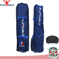 PLAYEAGLE Travel cover Bag with wheels 600D nylon fabric Men stand golf bag