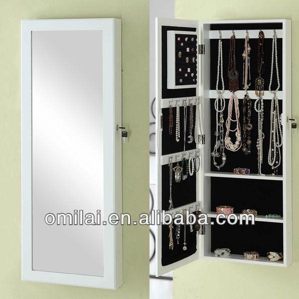woodenmdf wall mounted jewelry armoire mirror buy woodenmdf furniture wall mounted jewelry armoirewall mounted jewelry armoire mirror