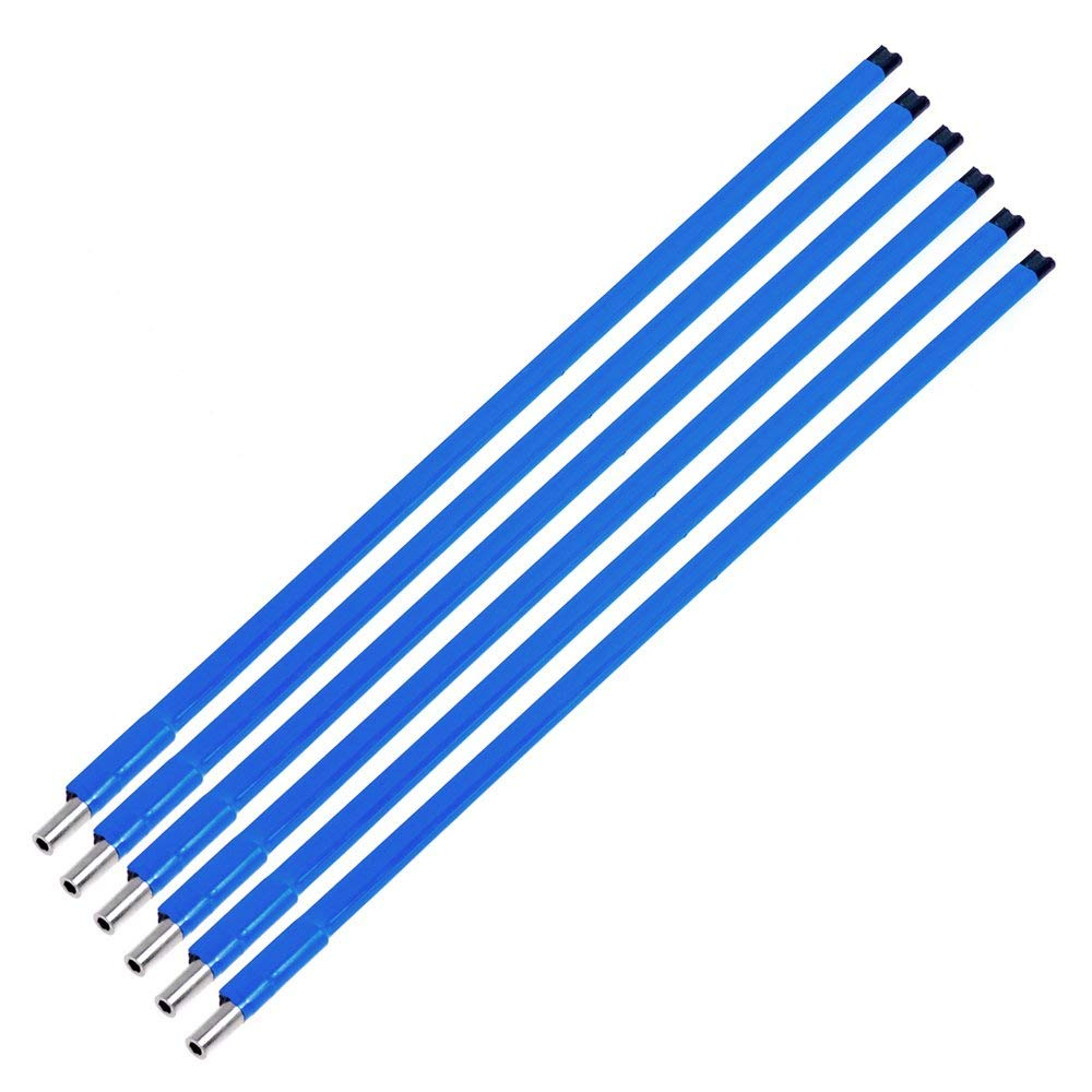 Electric Guitar Truss Rod Double Style Two Way Type A3 Steel For Guitars Parts And Hardware 4147.5 mm Blue 6pcs