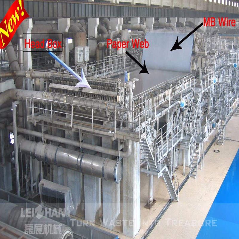 Waste Paper Recycling Production Line/ China Manufacturer Kraft ...