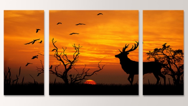 3 piece cool fine art painting  home deco art beautiful romantic picture Home Decorative Picture on Canvas print on canvas