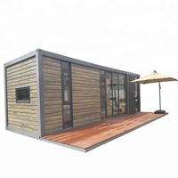 40ft rock wool sandwich panel house frame bathroom prefabricated flat pack container prefab homes