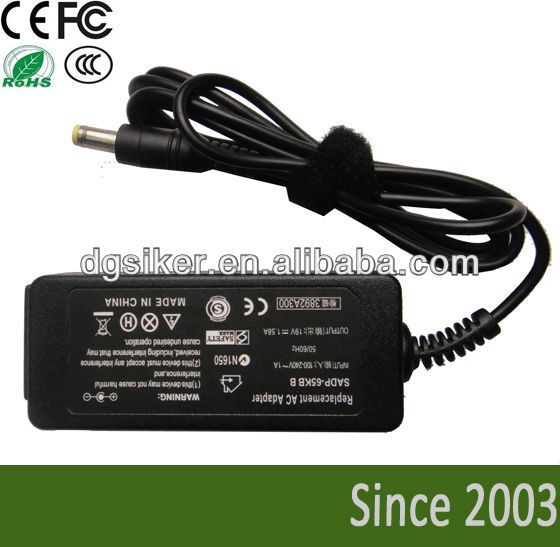 19v 1.58a oem laptop charger for Dell Inspiron Mini 9 mini 910 min10 mini12 Optiplex SX250 SX260