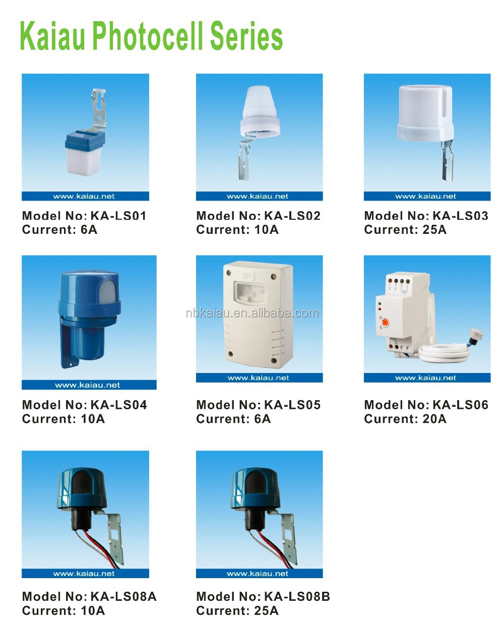 10A Day and night photocell switch / Day Night light control switch / Day light photocell sensor