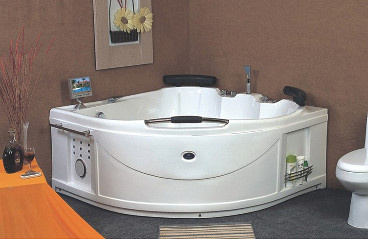 hot sale large corner swimming pool massage bathtub for Netherlands