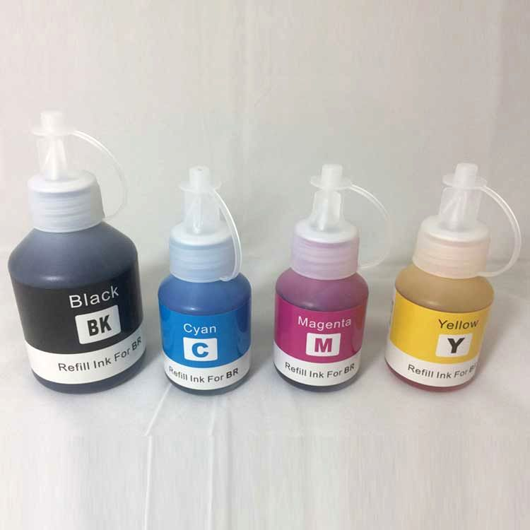 Bottle 100ml and 50ml bulk dye ink for brother