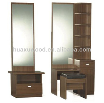 Hx131129 mz278european Style Walnut Dressing Table Design