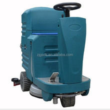 A5 CE Mini commercial battery ride on concrete gym floor cleaning machine