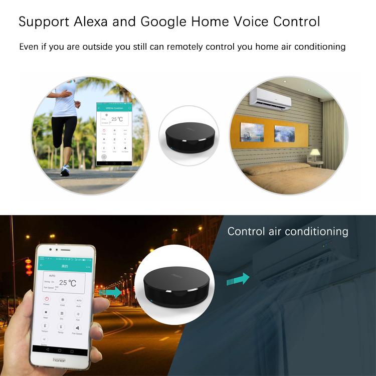 Tuya App Smart Wireless Wifi to IR Remote Control Support