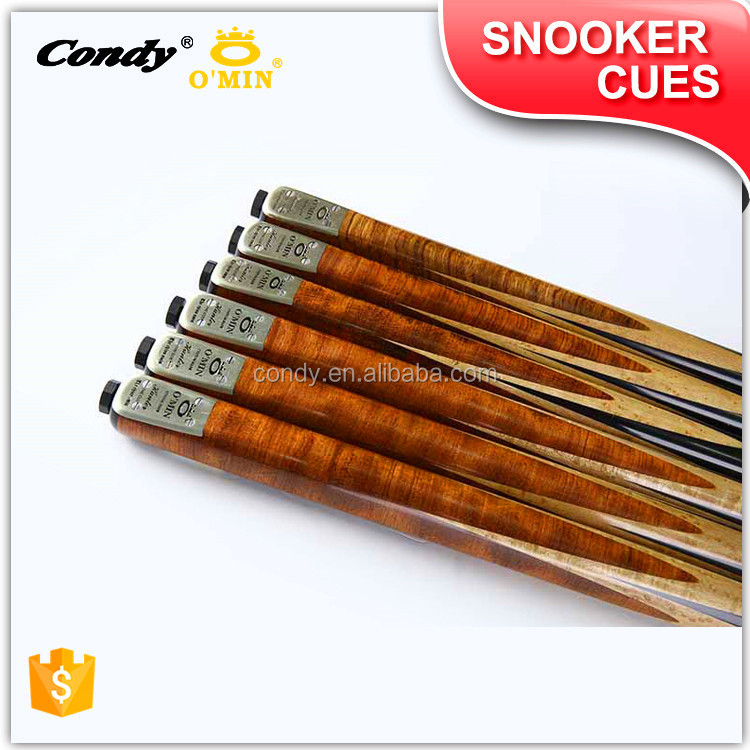 OMIN Factory promotion Professional quality 3/4-pc hand made maple snooker cues