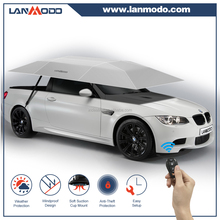 Patent holder Lanmodo auto folding garage portable car garage