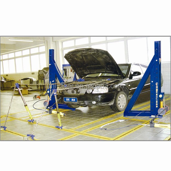 High quanlity UNILINER auto body collision repair system UL-L133 car pulling bench
