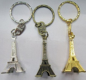 Fashion Eiffel Tower Key chains   Souvenir Eiffel Tower Keyring GFT-KC592 9344efeb43c9