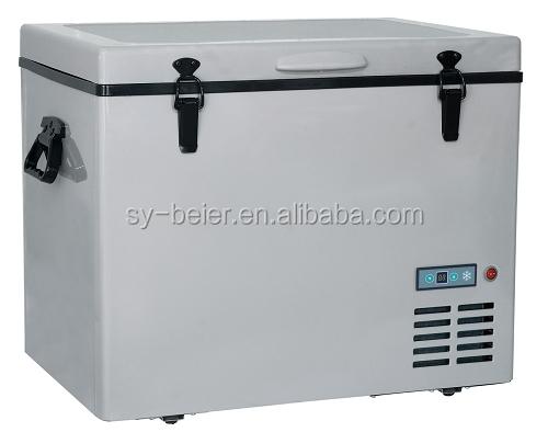 Kühlschrank Für Auto Mit Kompressor : 60l 12 v 24 v dc kompressor gefrierschrank mini kühlschrank