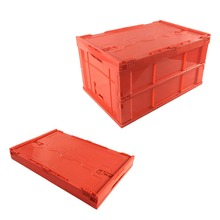 Save space and freight Stackable folding crate