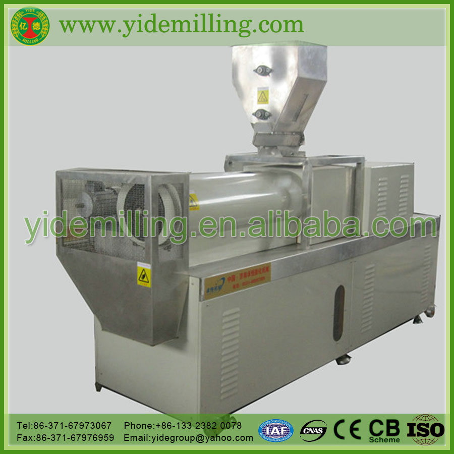 New Model High Precision Maize/Corn/wheat SLG double screw puffing machine