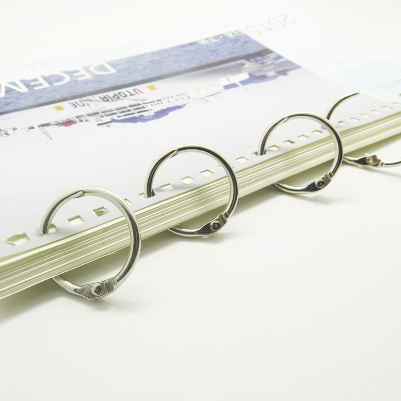 Metal Book Clip 3 Inch Snap Loose Leaf Binder Ring For Diy - Buy Ring For  Diy,Book Rings,Book Clip Product on Alibaba com