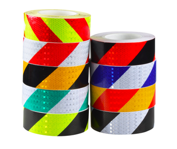 Glow in the dark and reflective tape