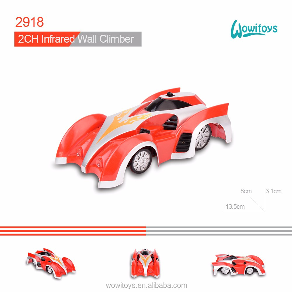 Toy Vehicle racing car and Infrared Wall Climber Car, rc car and climber