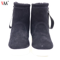 New fashion women shoes Sheepskin Ankle Ladies Winter Snow canadian snow boots