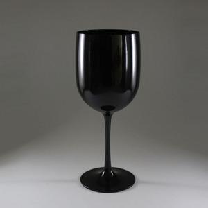 9f05ad6da758 16 Oz Plastic Goblet Wine Glass PC Black Goblet Plastic Champagne Glass for  Moet Chandon Reusable