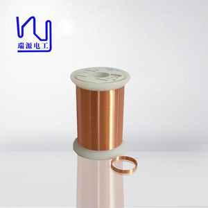 Solderability UL For coil winding machine high quality enameled copper wire prices