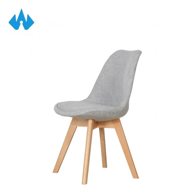 High Quality Modern Colorful Dining Room Furniture Wood Base Pathwork Dining Chair